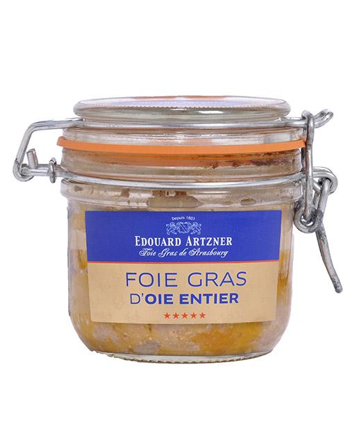 Foie gras d´oie entier en gelée 290 g (conserve) - Edouard Artzner