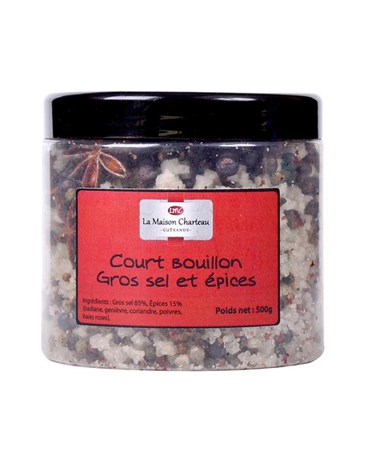 Gros sel de Guérande aux épices - Maison Charteau