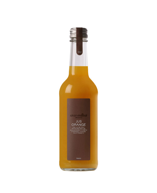 Jus d´orange blonde - Alain Milliat