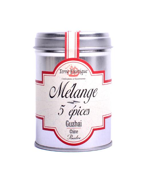 Mélange 5 Epices - Terre Exotique. Une saveur douce et anisée.