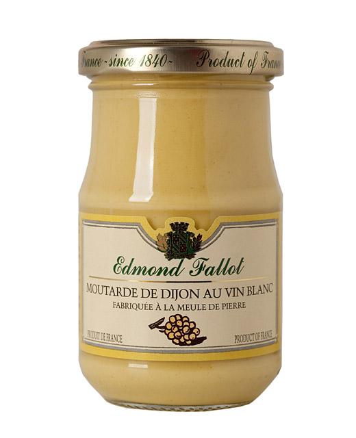 Moutarde de dijon au vin blanc - fallot