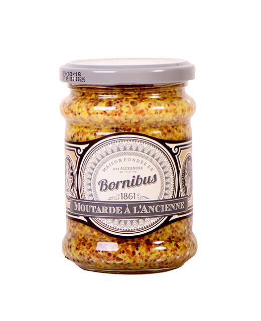 Soldes - Moutarde à l'ancienne en grains - bornibus