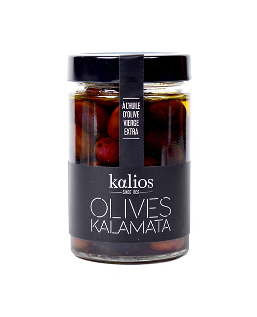 Olives Kalamata à l´huile d´olive vierge extra - Kalios