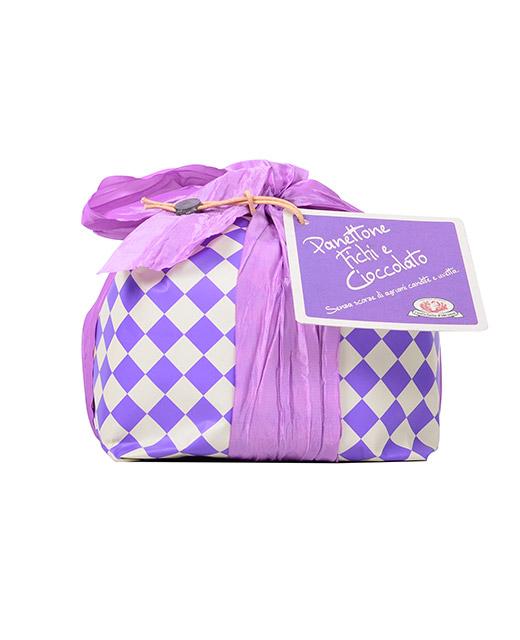 Panettone aux figues et au chocolat - Rustichella d´Abruzzo