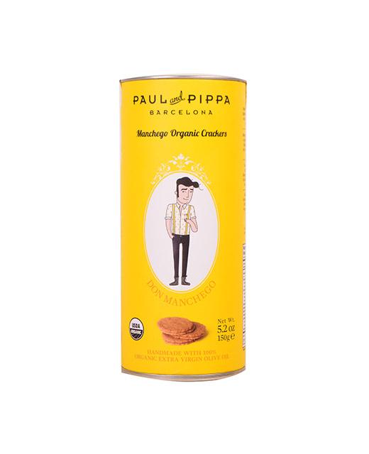 Biscuits bio au fromage (Manchego) - Paul & Pippa. Ces biscuits sont délicieux pour l´apéritif.