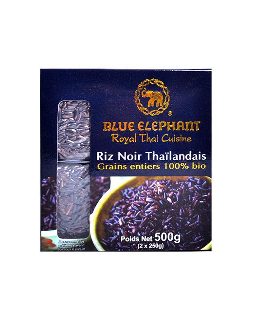 Riz Noir Thaï bio - Blue Elephant