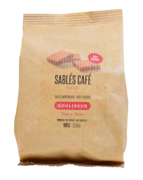 Sablés café - goulibeur