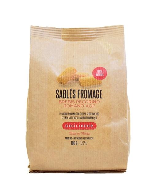 Sablés fromage - goulibeur