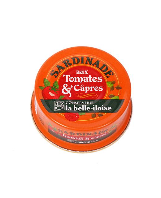 Sardinade aux tomates et aux câpres - la belle-iloise