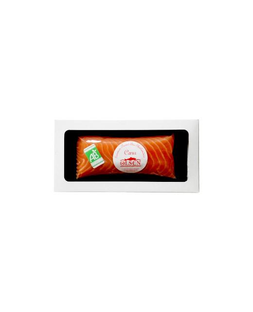 Saumon Shetland fumé bio - cœur de filet - Edélices