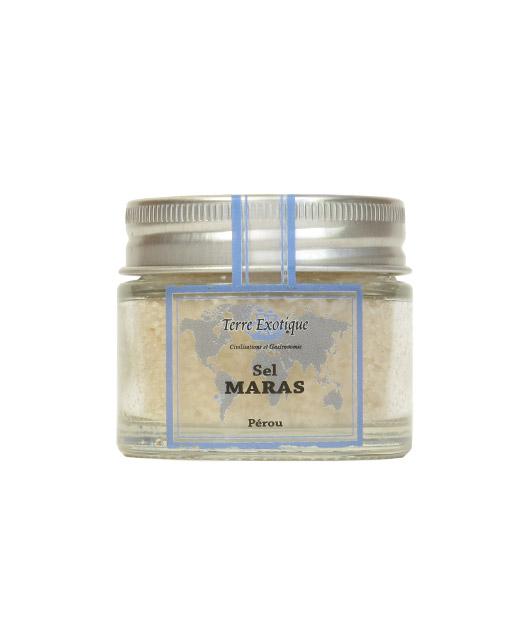 Sel de Maras - Terre Exotique. Ce sel rose a une saveur intense.