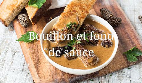 Bouillon et fond de sauce