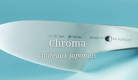 Couteau japonais Chroma