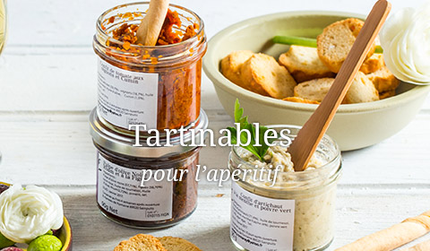 tartinable apéritif