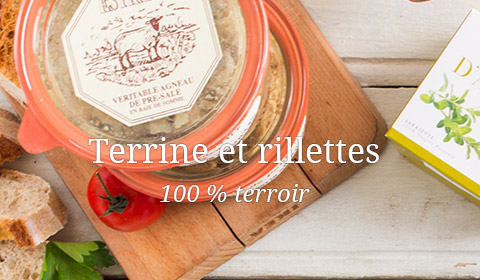 terrine rillettes pate