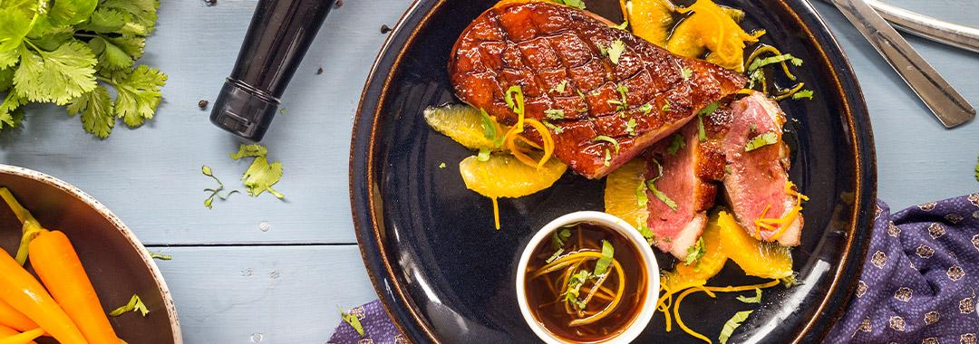recette magret orange soja