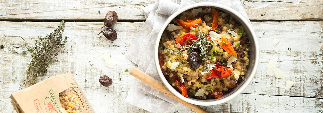recette risotto fregola sarda