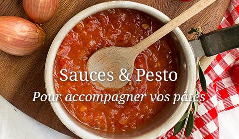 Sauces pour pâtes