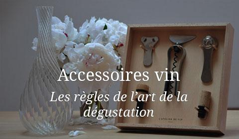 Accessoires vins