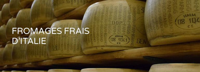 Fromages frais d'Italie