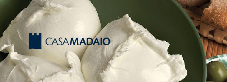 Mozzarella Burrata Casa Madaio