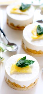 recette entremets ananas passion tonka