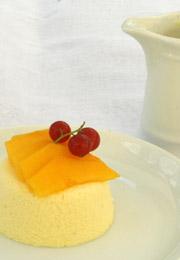 Bavarois mangue fruits exotiques