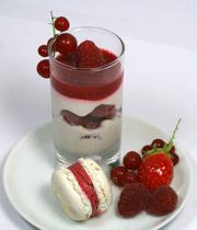 Duo de desserts Tutti frutti