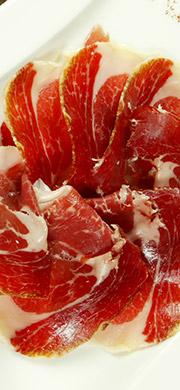 La découpe du jambon ibérique Bellota
