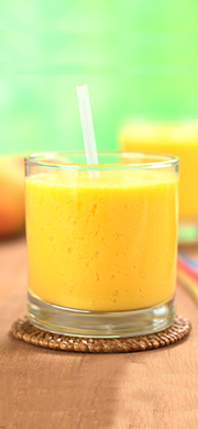 Smoothie mangue et citron vert