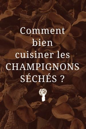 Champignons s ch s morilles chanterelles ed lices - Champignons secs comment les cuisiner ...