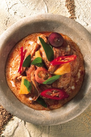 Curry rouge Thai