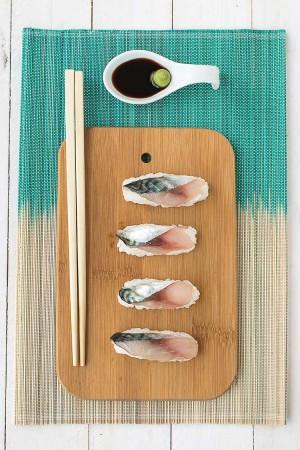 Sushis de maquereaux