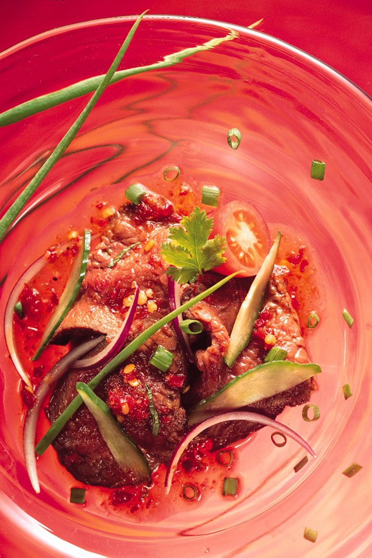 Salade de boeuf épicé Thai
