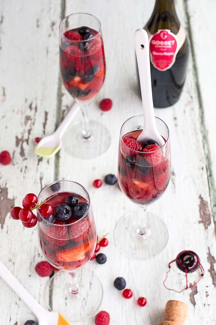 fruits rouges en gel e de champagne ed lices. Black Bedroom Furniture Sets. Home Design Ideas