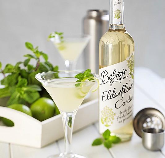 Cocktail : Daiquiri à la menthe et fleur de sureau