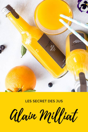 Le secret des jus Alain Milliat