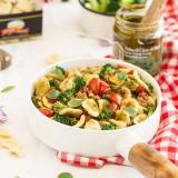 Orecchiette cime di rapa, brocolis et tomates rôties