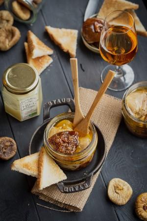 Cassolettes de foie gras au miel et figues Baglama