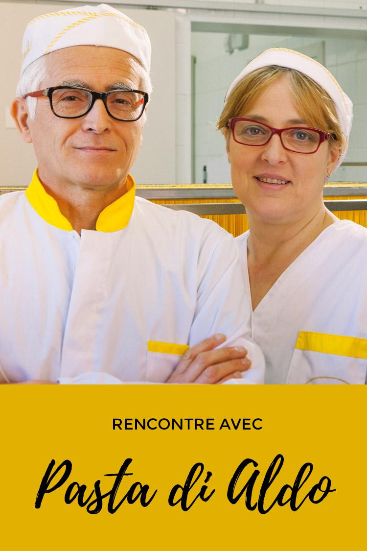 Pasta Di Aldo : les pâtes aux œufs artisanales