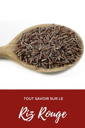Tout savoir sur le riz rouge